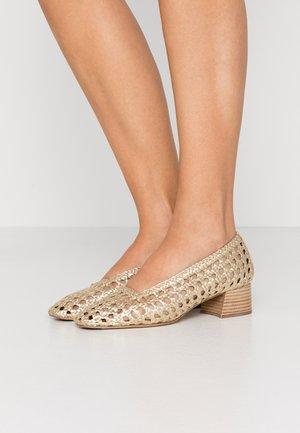 TAISSA - Classic heels - gold