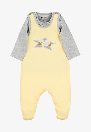 STRAMPLER-SET JERSEY EDDA - Baby gifts - yellow