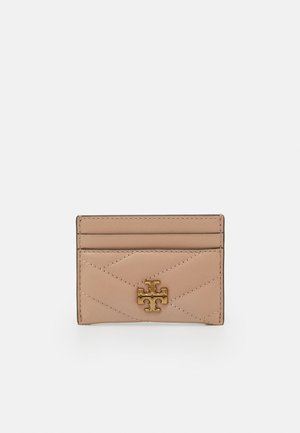 KIRA CHEVRON CARD CASE - Wallet - devon sand