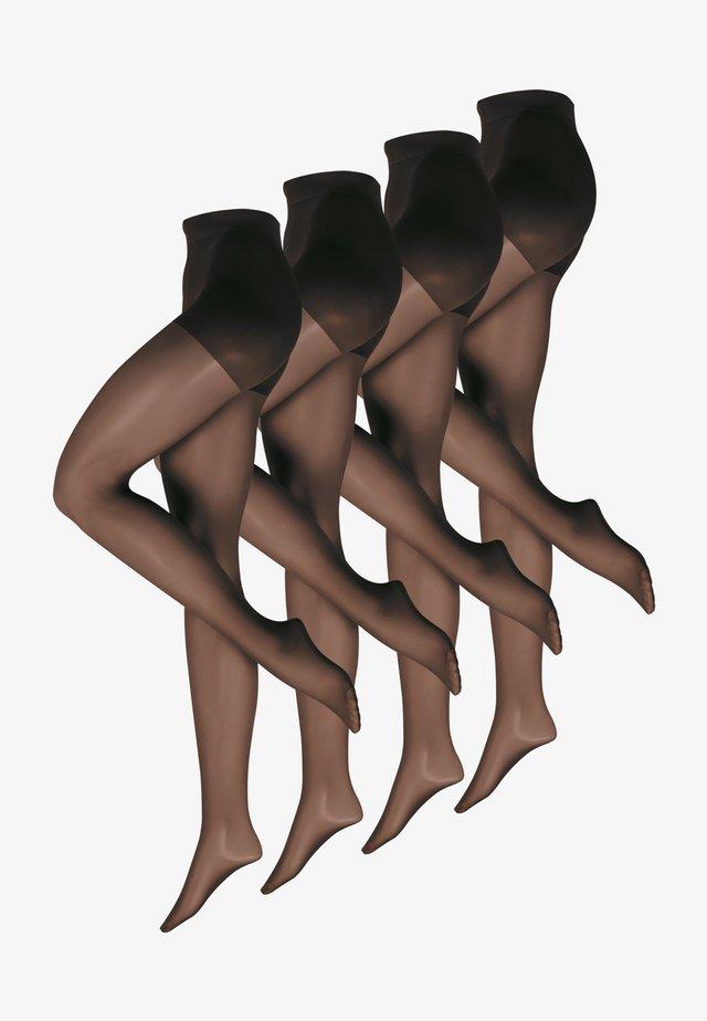 4-PACK - Panty - schwarz