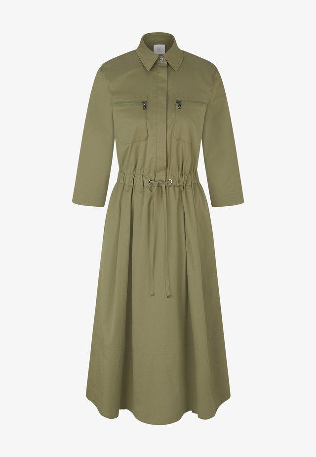 Sukienka koszulowa - khaki
