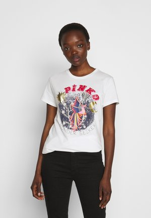 DURANTE - T-shirts med print - white