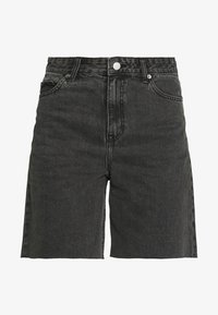 MEJA DENIM SHORTS - Denim shorts - retro black