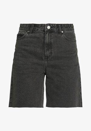 MEJA DENIM SHORTS - Shorts vaqueros - retro black