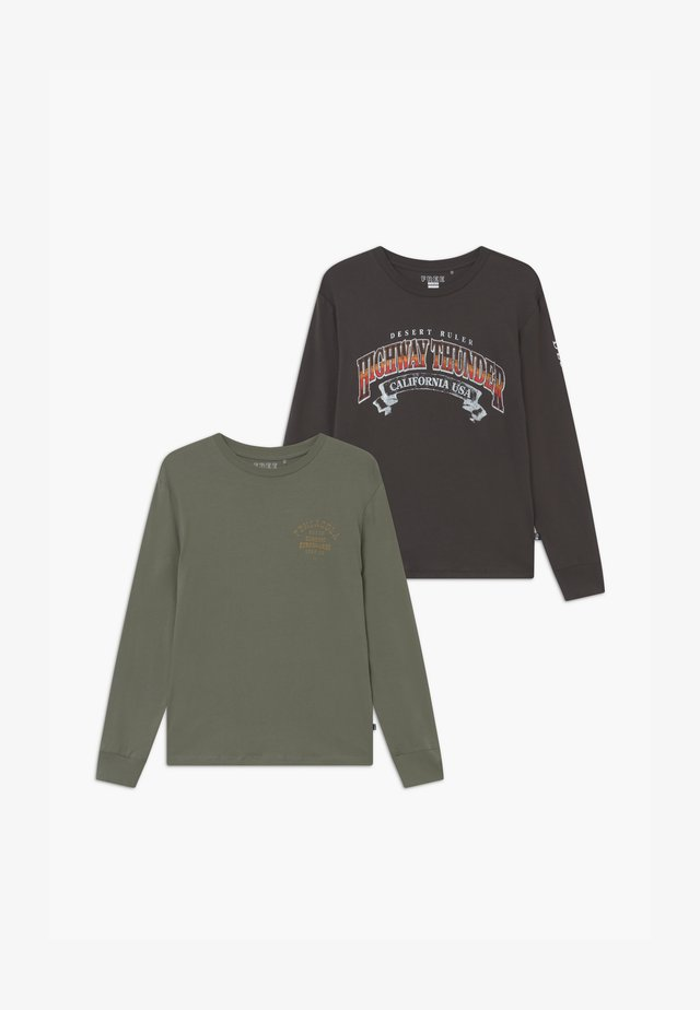 FREE BOYS LONG SLEEVE 2 PACK - Langærmede T-shirts - pensicola/highway