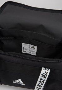 adidas Performance - 4ATHLTS ESSENTIALS 3STRIPES SPORT DUFFEL BAG - Urheilukassi - black/white - 4