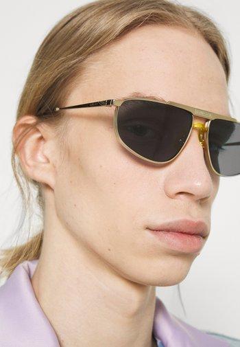 Solglasögon - gold-coloured/gold-coloured/blue