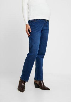 OVERBUMP ELLIS STRAIGHT - Jeans a sigaretta - mid wash