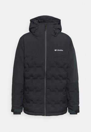WILD CARD JACKET - Lyžařská bunda - black