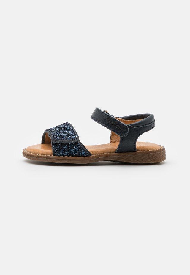 LORE SPARKLE - Sandals - dark blue