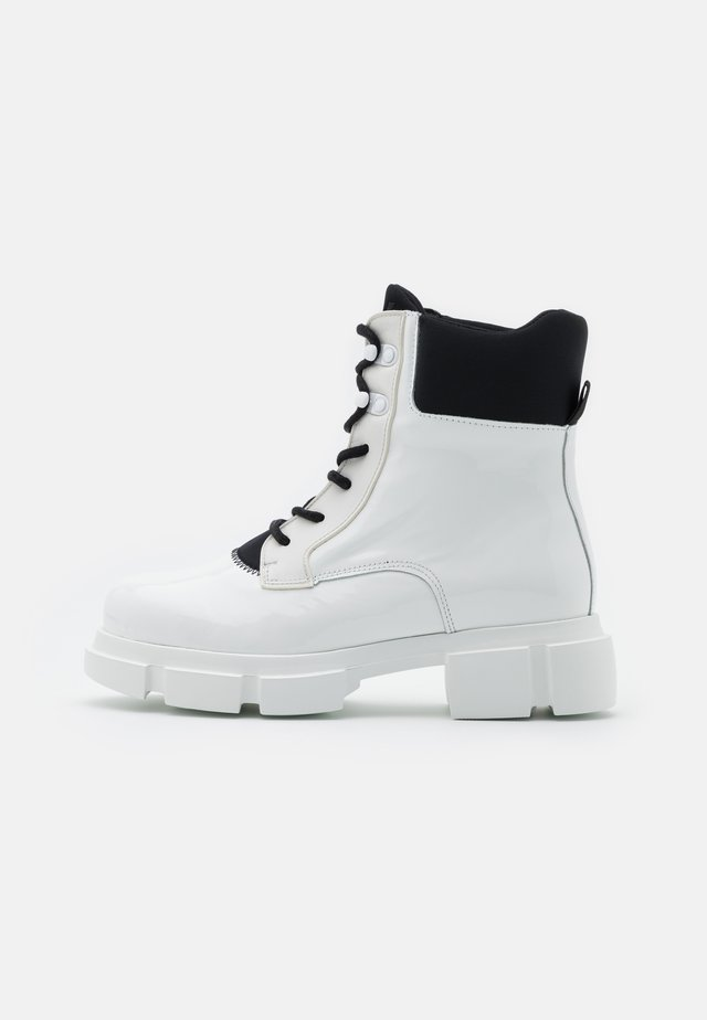 VELAR BOOT - Bottines à plateau - white