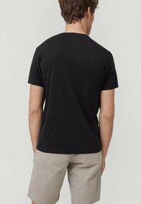 O'Neill - Print T-shirt - black out - 1