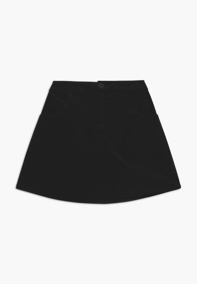 KAO SKIRT - Jupe trapèze - black
