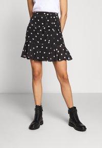 The Kooples - JUPE - A-line skirt - black - 0
