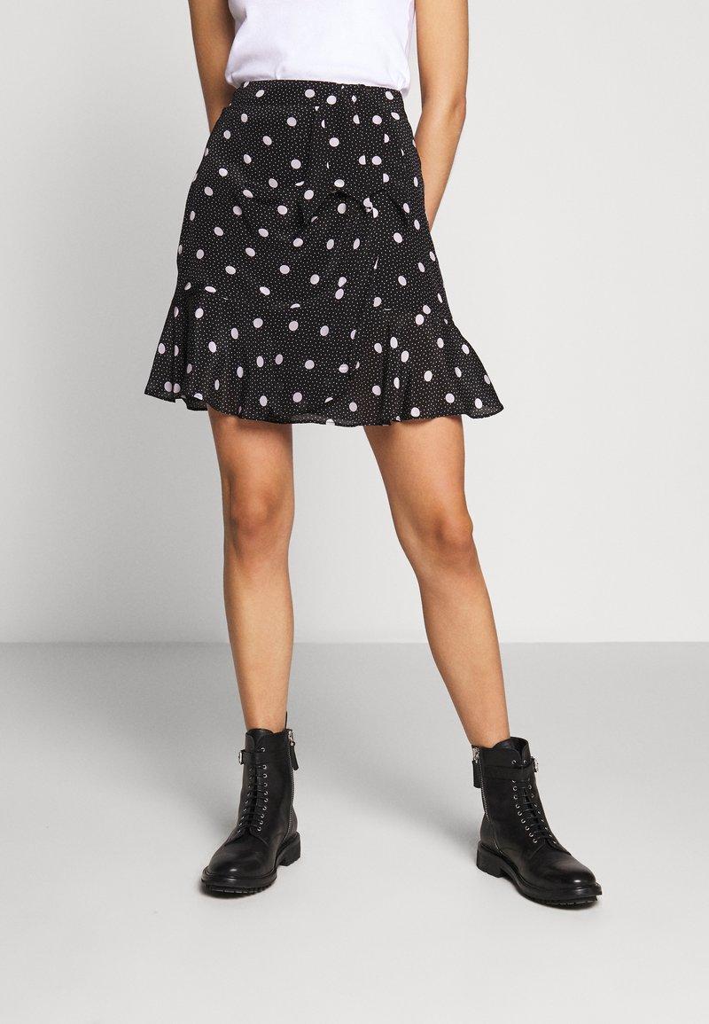 The Kooples - JUPE - A-line skirt - black