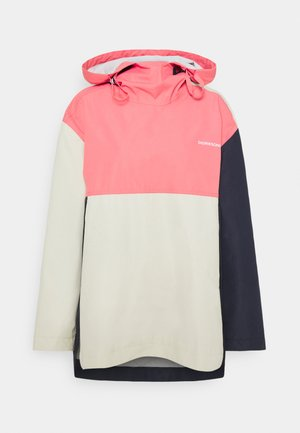 TORA - Hardshellová bunda - navy/rose/beige