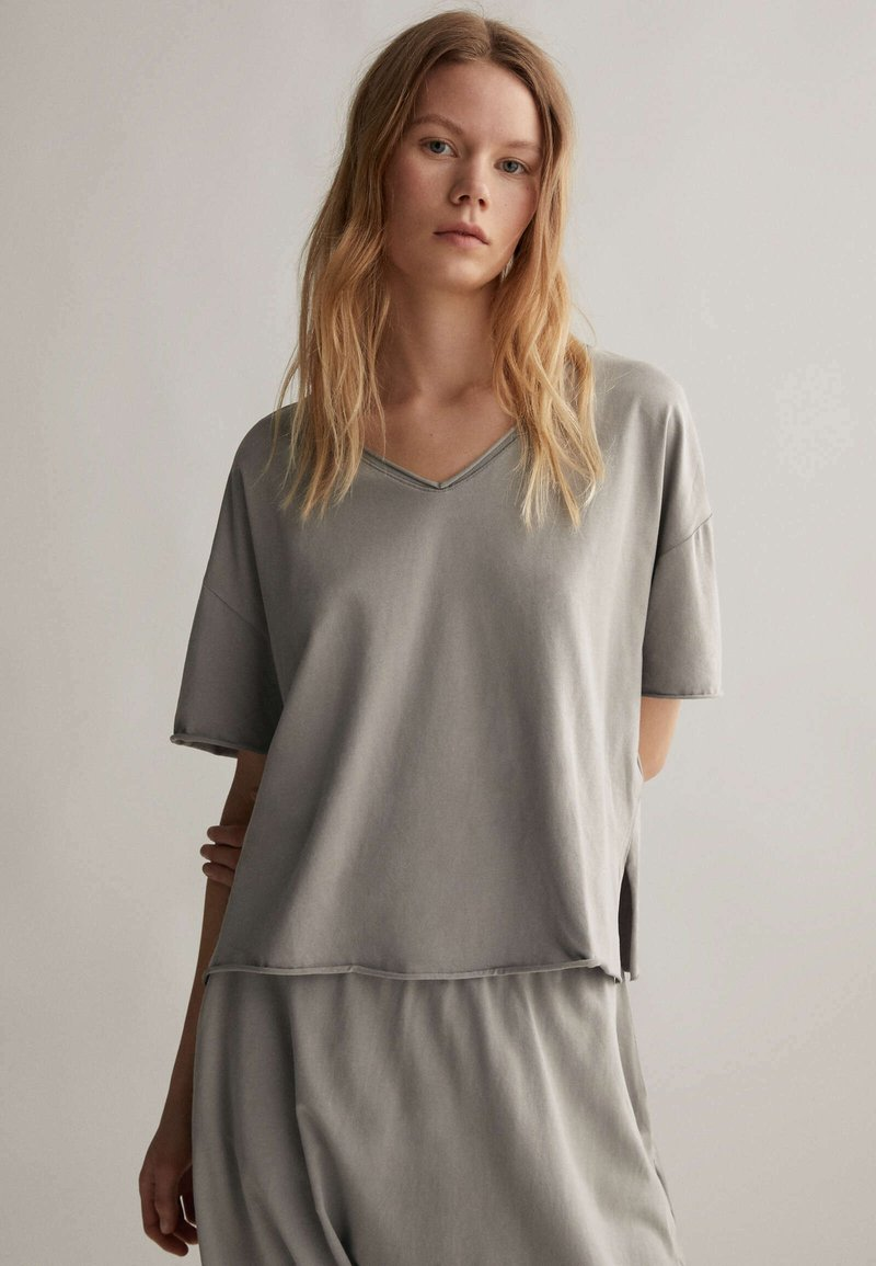 OYSHO - Pyjama top - grey