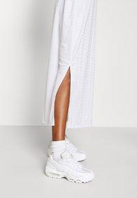 Nike Sportswear - DRESS - Maxi dress - white/white/black - 3