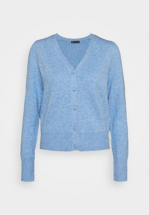 PLEAT SLEEVE  - Cardigan - light blue