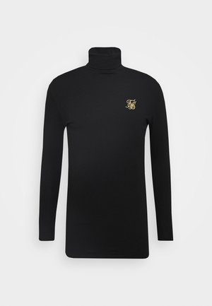 ROLL NECK - Longsleeve - black