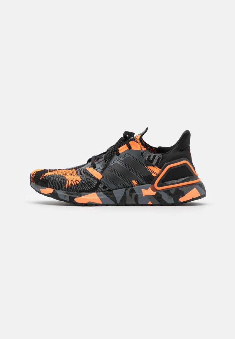 adidas Performance - ULTRABOOST 20 PRIMEBLUE PRIMEKNIT RUNNING SHOES - Chaussures de running neutres - core black/signal orange