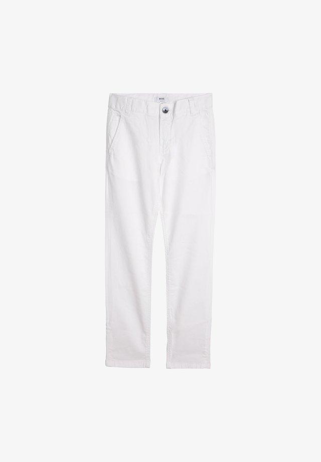 Trousers - blanc
