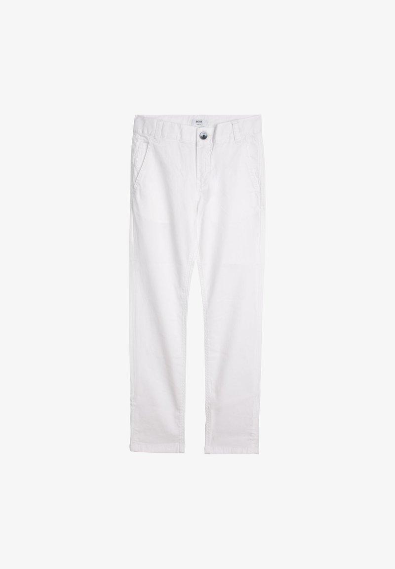 BOSS Kidswear - Trousers - blanc