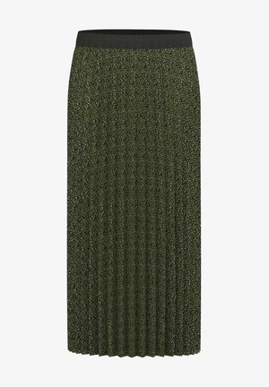 A-line skirt - green mix