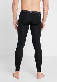 Nike Performance - PRO TIGHT - Långkalsonger - black/anthracite/white - 2