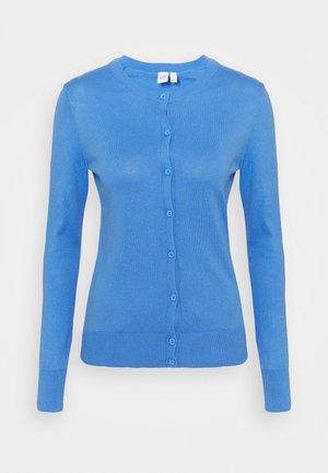 CREW - Cardigan - moore blue