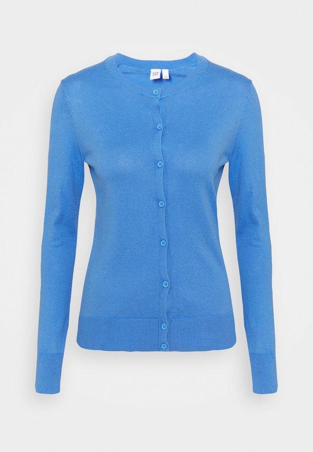 CREW - Strickjacke - moore blue