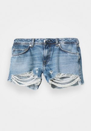 THRASHER DESTROY - Denim shorts - denim