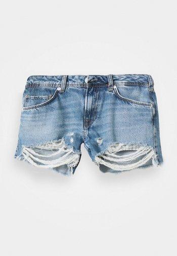 THRASHER DESTROY - Shorts vaqueros - denim