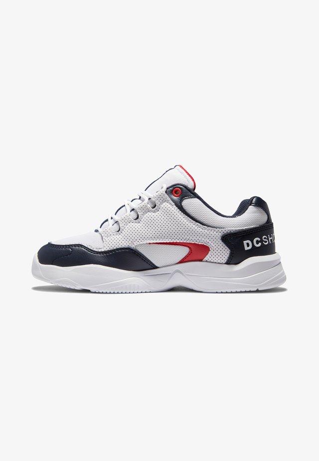 DECEL - Sneakers laag - white/red/blue