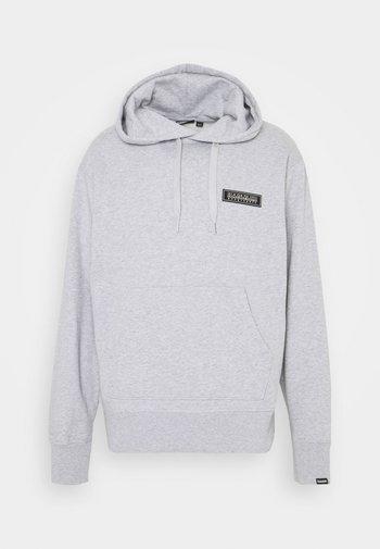 PATCH UNISEX - Hoodie - light grey melange