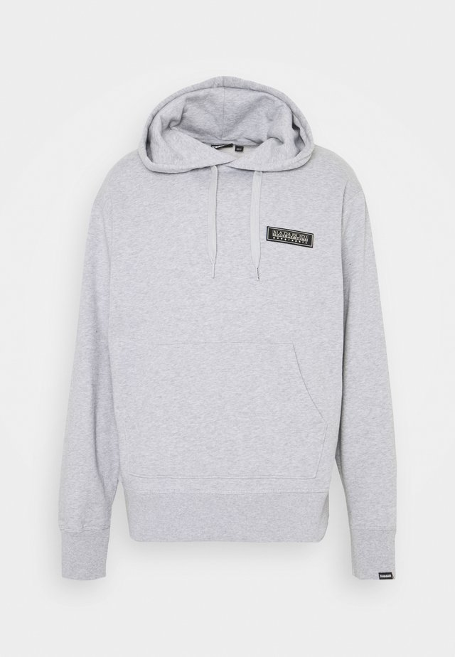 PATCH UNISEX - Hoodie - light grey melange