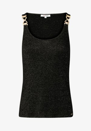 WITH ORNAMENTS - Top - black