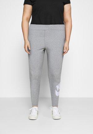 FUTURA  - Leggings - Trousers - dark grey heather/white