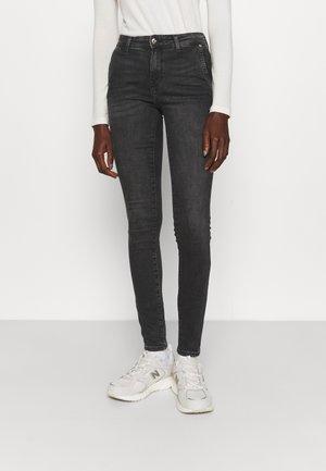 ONLBLUSH LIFE - Jeans Skinny Fit - black denim