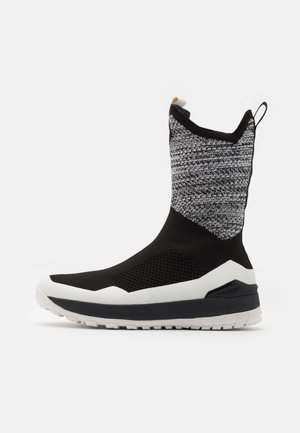 FALERA II HIGH WP  - Winter boots - black/bright white