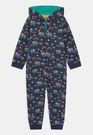 BIG SNUGGLE RAINBOW AND ELEPHANT UNISEX - Pyjamas - indigo