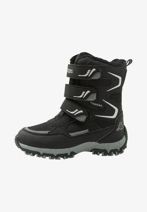 GREAT TEX  - Winter boots - black/silver