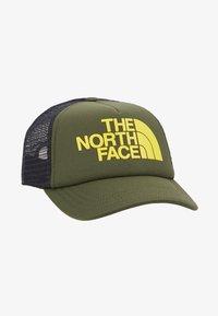 The North Face - LOGO TRUCKER - Kšiltovka - thyme/lemon - 1