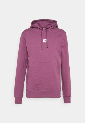 CENTRAL LOGO HOOD - Hoodie - pikes purple