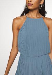Samsøe Samsøe - MYLLOW SHORT DRESS - Koktejlové šaty/ šaty na párty - blue mirage - 6