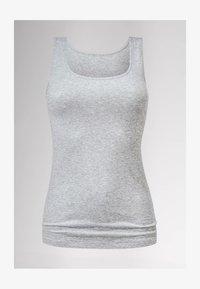mey - TOP SERIE COTTON PURE - Undershirt - grey melange - 1
