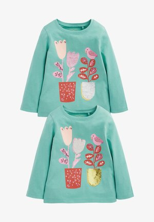 2 PACK - Long sleeved top - green