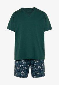 Schiesser - Pyjama set - grün - 4