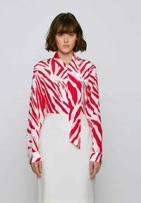 BOSS - BANSUMA - Button-down blouse - patterned - 2