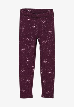 Leggings - Trousers - purple aop